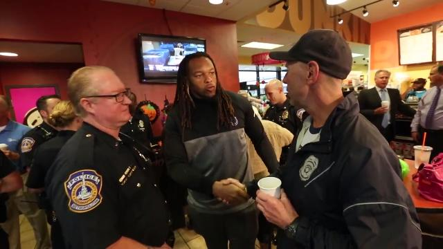 Indianapolis Colts player Jabaal Sheard talks about the importance of knowing others, working with cops and community for respect.