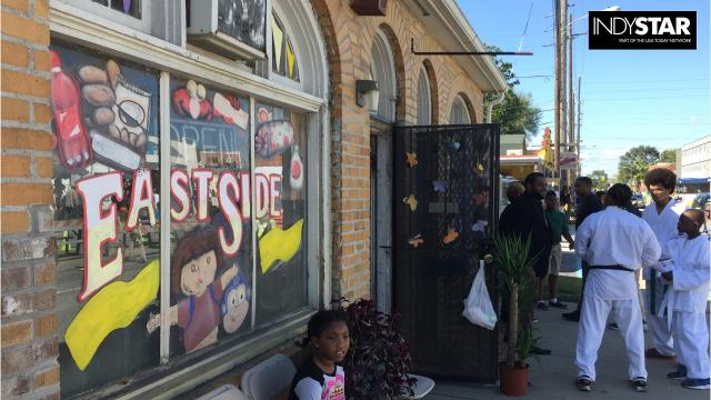PreEnact Indy, organized by the Harrison Center and other groups, was part play, part festival. It envisioned the Martindale-Brightwood neighborhood's future using its past.