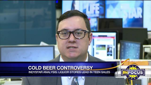 IndyStar statehouse reporter Tony Cook and Fox59's Dan Spehler discuss findings that undermine a core argument used to justify the liquor store industry's virtual monopoly on Indiana's cold beer sales. Plus: Licensing the media? (October 2017)