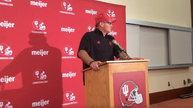 Tom Allen recaps frustrating Michigan loss