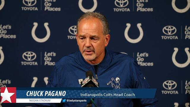 Coach Pagano breaks down Colts loss to Titans
