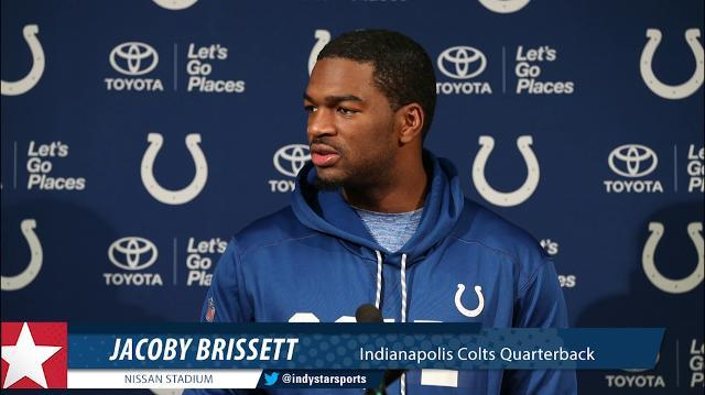 'I didn't play good enough in the second half.' Brissett owns loss