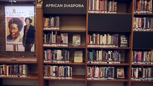 The new Center for Black Literature & Culture will be unveiled in the historic west wing of Indianapolis' Central Library on Saturday, Oct. 21, 2017.