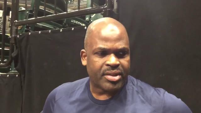 Pacers coach Nate McMillan said Myles Turner hurt his neck during the season-opening win against the Brooklyn Nets and is doubtful to play Friday night against the Portland Trail Blazers.