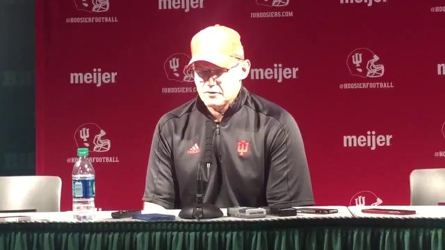 Indiana coach Tom Allen talks about yet another disappointing loss after Saturday's 17-9 defeat at Michigan State.