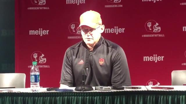 "Tom Allen after loss at Michigan State: ""We let them off the hook"""