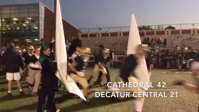 Friday Night Highlights: Cathedral 42, Decatur Central 21