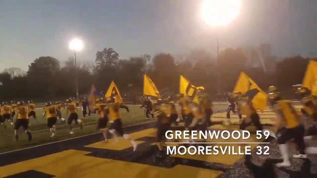 Friday Night Highlights: Greenwood 59, Mooresville 32