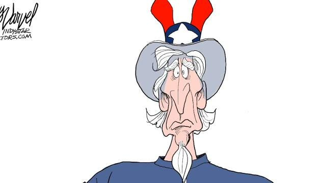 Varvel: How to draw Uncle Sam