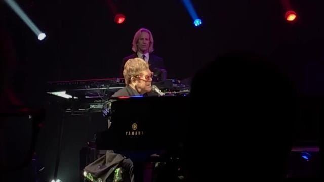 Elton John played the Ford Center in Evansville Saturday night.