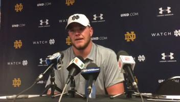 Notre Dame's Mike McGlinchey on a loss to Miami