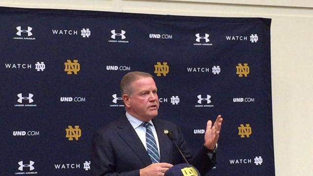 Brian Kelly addresses where Notre Dame goes from here
