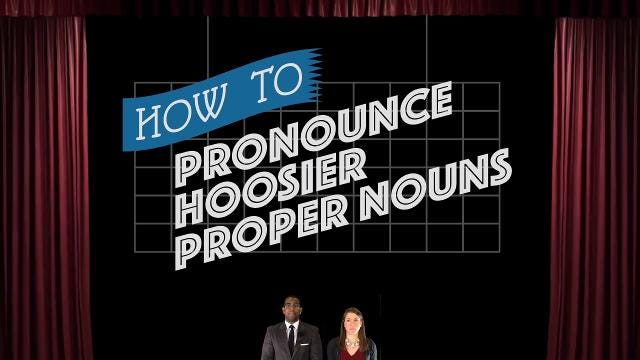 IndyStar reporters Amy Bartner and Justin Mack stumble through a few commonly mispronounced Hoosier proper nouns.