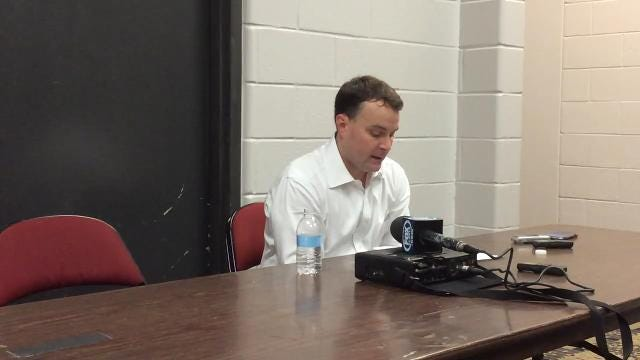 Miller meets media following 84-68 loss at Seton Hall