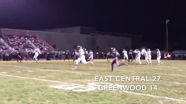 East Central is headed to IHSAA finals at Lucas Oil Stadium after a 27-14 win over Greenwood.