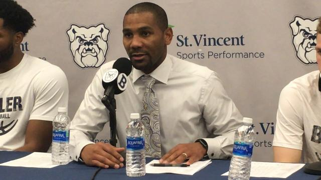 Butler basketball coach LaVall Jordan discusses the Bulldogs' Saturday matinee win over Furman.