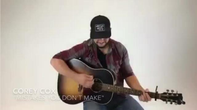 Corey Cox, 'Mistakes You Don't Make'