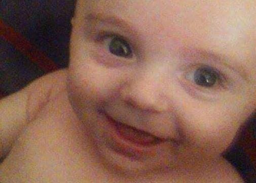 The family of Jaxon Morgan, who died from positional asphyxia, speaks out on Nov. 10, 2017, as child advocates after losing him at the age of four months.