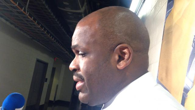 Pacers coach Nate McMillan discusses their loss to the Houston Rockets