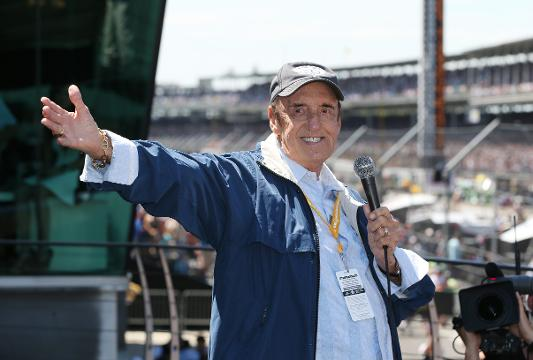 """Jim Nabors sang """"(Back Home Again in) Indiana"""" at more than 35 Indianapolis 500 races over 42 years. (Nov. 30, 2017)"""