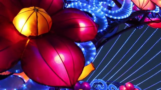 Take a peaceful stroll through the Chinese Lantern Festival which lights up the Indiana State Fairgrounds nightly through Jan. 7, 2018.