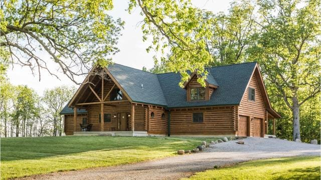 Hot Property: An unexpected $929K log cabin in Zionsville