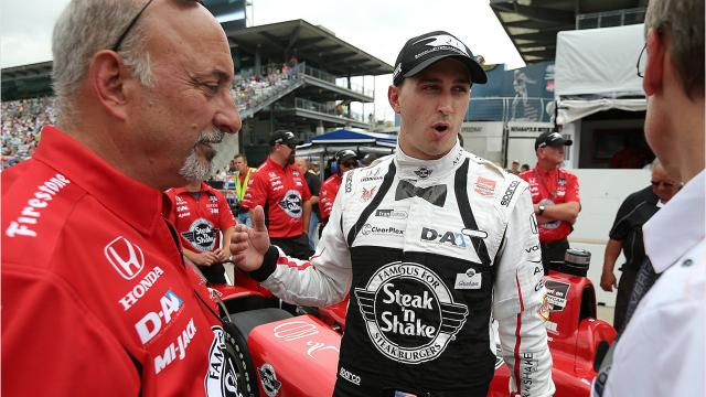 IndyCar driver Graham Rahal talks about what's in his refrigerator and where he eats. He was the 2018 honorary chair of Rev, a huge, annual food and drink party that kicks off the Month of May at Indianapolis Motor Speedway.