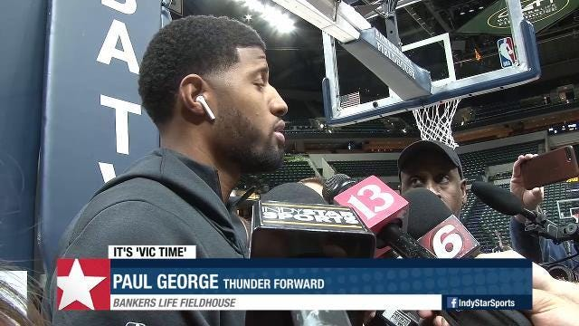 Paul George won't lose sleep over boos by fans