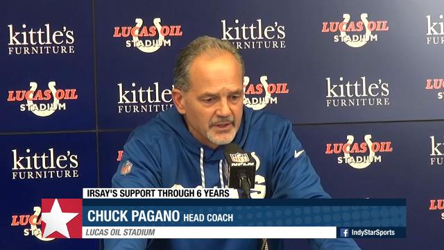 Chuck Pagano postgame: 'I don't know what tomorrow brings'