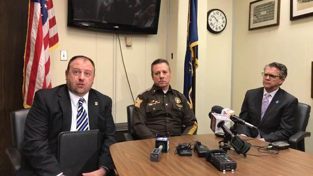 Evansville Police Department held a news conference at 10:30 a.m. Wednesday about violent crime and fatal shootings in the city.
