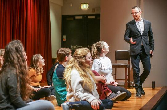 Young Actors Theatre Executive Director Justin Wade on how recovering from drug addiction at a young age led him to help kids become addicted to success through Self Empowerment Theatre on Tuesday, Dec. 12, 2017.