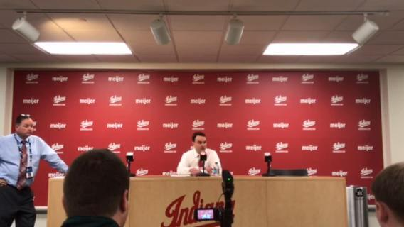 Archie Miller discusses IU's 74-70 win against Penn State