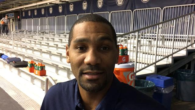 Butler basketball coach LaVall Jordan discusses Marquette, which visits Butler on Friday night.