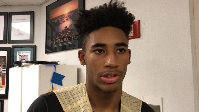 Interview with Cathedral junior Armaan Franklin, who has a lot of intriguing college offers.