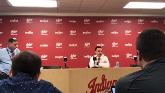 IU head coach Archie Miller meets with the media following the Hoosiers' 66-46 rout of Northwestern Sunday night.