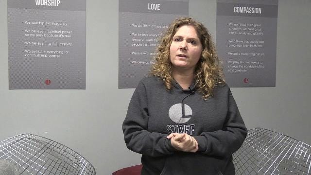 Natalie Jaranowski, executive director of One Life Church, explains how she feels active shooter training is important for the safety of the church members.