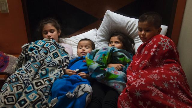 The Cuahua children – all U.S. citizens – immigrate to Mexico after their father was deported to Mexico in September of 2017.