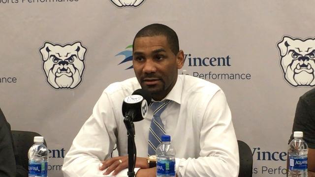 Butler coach LaVall Jordan recaps the Bulldogs' loss