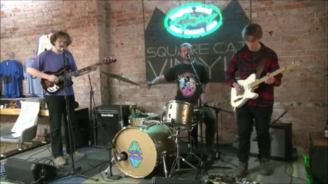 """Sleeping Bag performs """"Doin' It Alone"""" on the Feb. 8, 2018, episode of """"Dogfish Head Brewery presents IndyStar Sessions at Square Cat Vinyl."""" The show's next episode will star rapper Flaco at 6 p.m. Feb. 15."""
