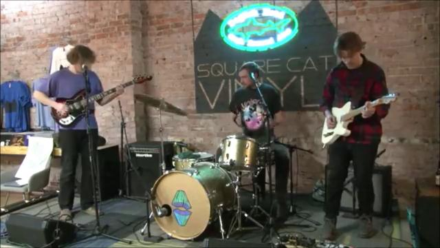 """Sleeping Bag performs """"Touch of Gold"""" on the Feb. 8, 2018, episode of """"Dogfish Head Brewery presents IndyStar Sessions at Square Cat Vinyl."""" The show's next episode will star rapper Flaco at 6 p.m. Feb. 15."""