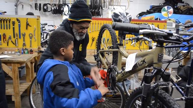 Freewheelin' Community Bikes use bicycles as a vehicle for life lessons among Indianapolis youth.