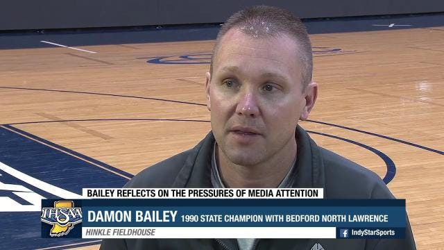 Bailey reflects on the pressures of media attention