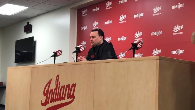 IU basketball's Archie Miller, Zach McRoberts preview Iowa matchup