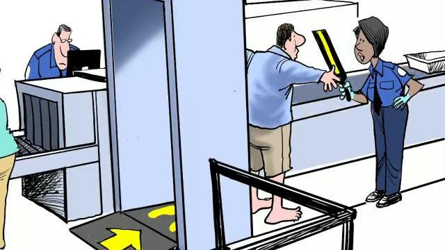 Watch Gary Varvel's process in coloring his editorial cartoon on school security in this time lapse video.