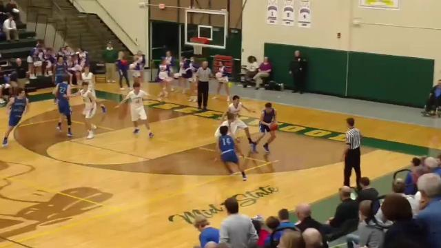 Hoosier Hardwood Highlights: Whiteland vs. Franklin Central in boys basketball sectional action