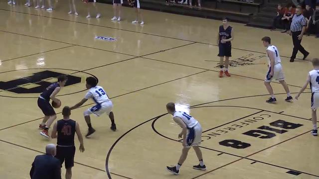 Highlights from the Memorial vs Heritage Hills boys' sectional game.