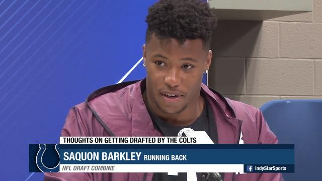 New York Giants select Saquon Barkley in first round of NFL Draft ... 3599aac64