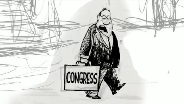 Watch Gary Varvel's technique in drawing the federal debt in this time lapse video.