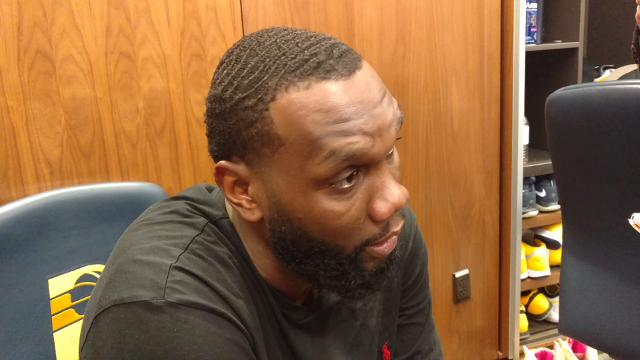 Pacers big man Al Jefferson: 'I'm always ready to go'
