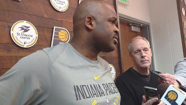Indiana Pacers coach Nate McMillan said Myles Turner is questionable for Saturday's big game against the Washington Wizards but will play if the training staff feels he's ready.